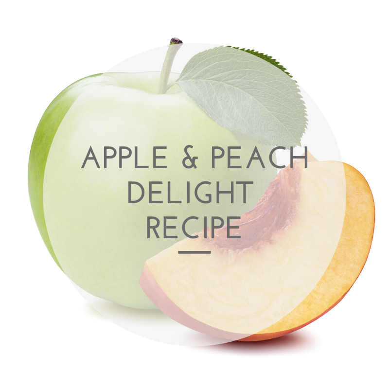 Apple and Peach Delight