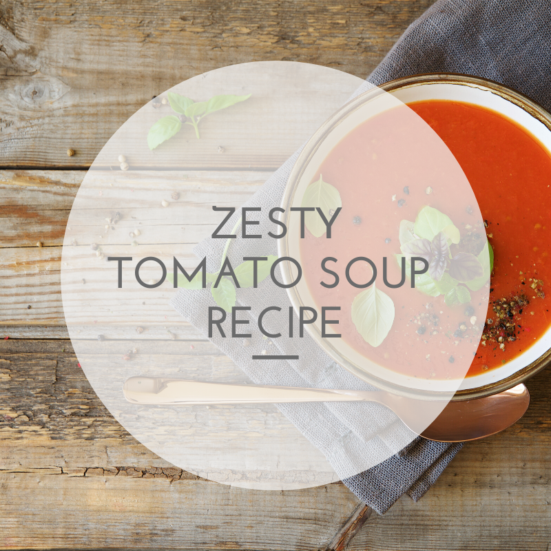 zesty tomato soup recipe