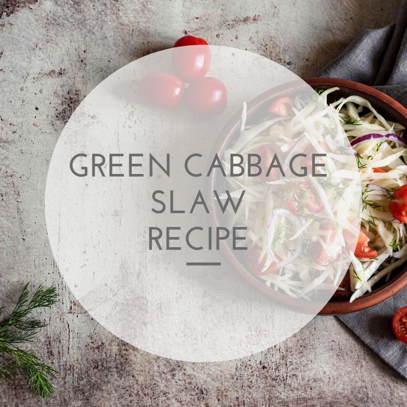 Green Cabbage Slaw Recipe
