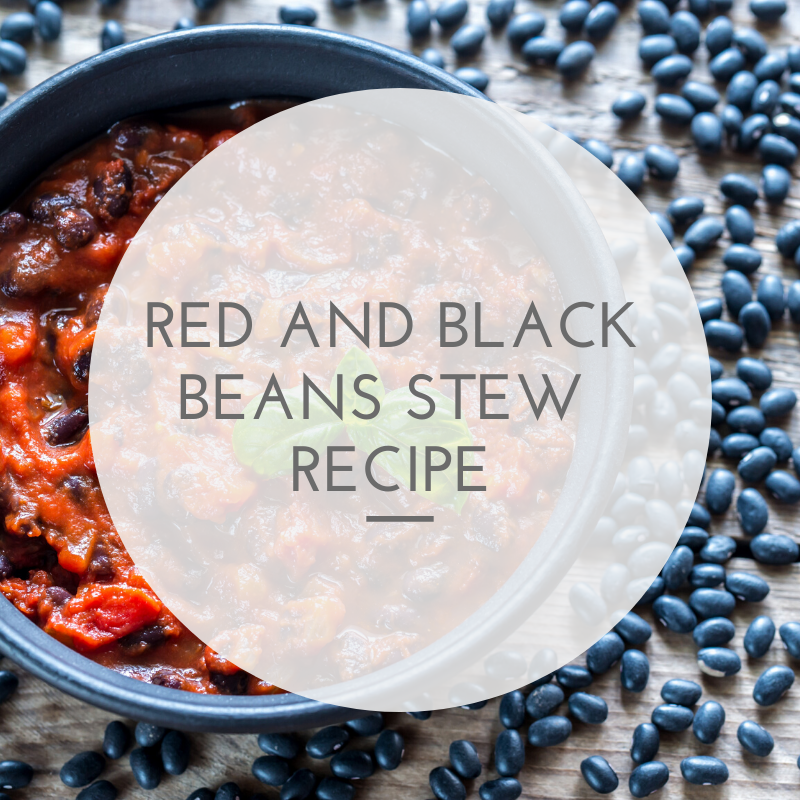 Red and Black Bean Stew Recipe