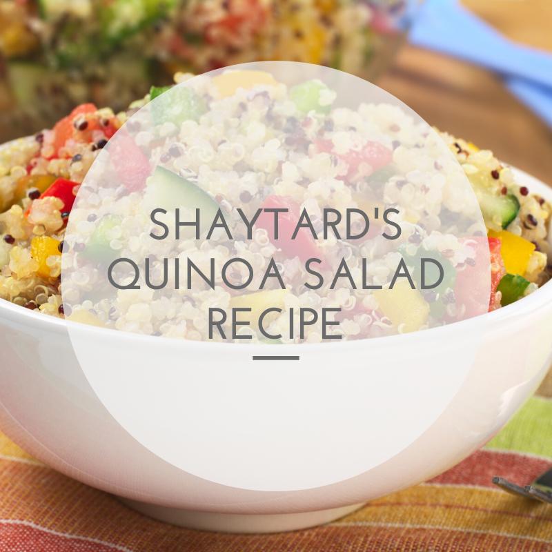 Shaytard's Quinoa Salad