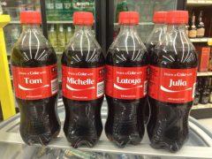 Tom Brady on Coke