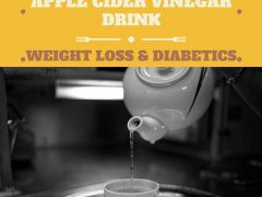 Diabetes Warm Apple Cider Vinegar Drink For Weight Loss
