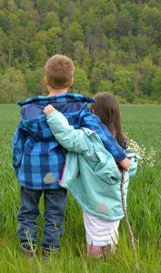 children-walking-together