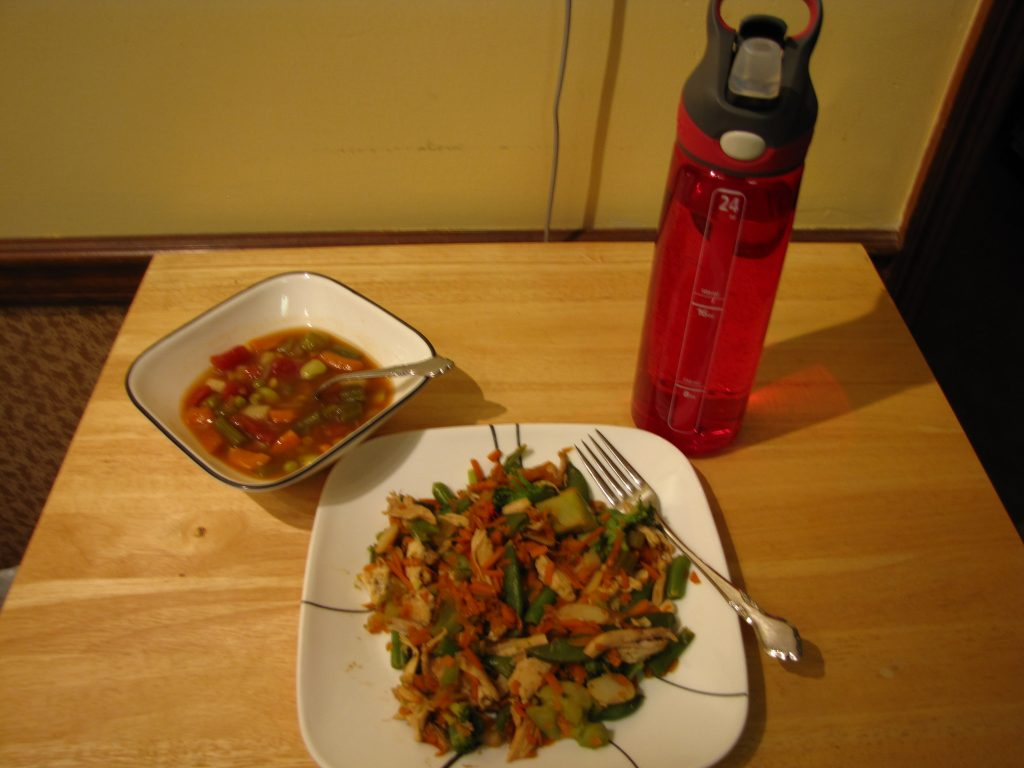 500 calories a day dinner