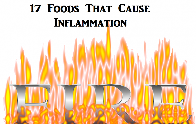 Inflammatory Foods List: 17 Foods That Poison The Body [Infographic]