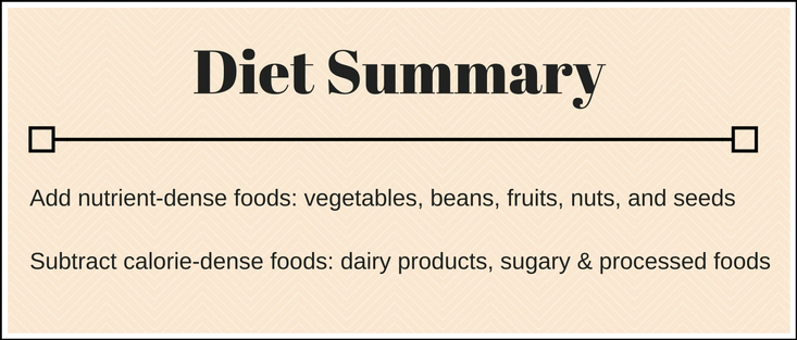 Lose 10 lbs Diet Summary