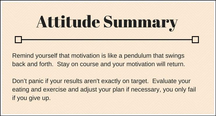 Lose 10 lbs Attitude