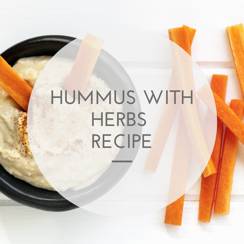 Hummus with Herbs Recipe