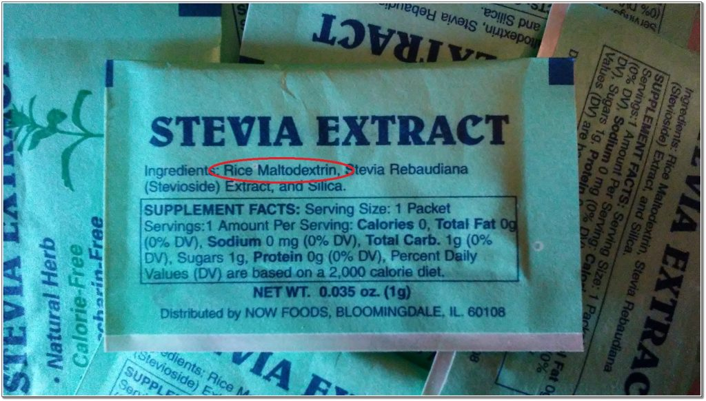 Can I Use Stevia Maltodextrin