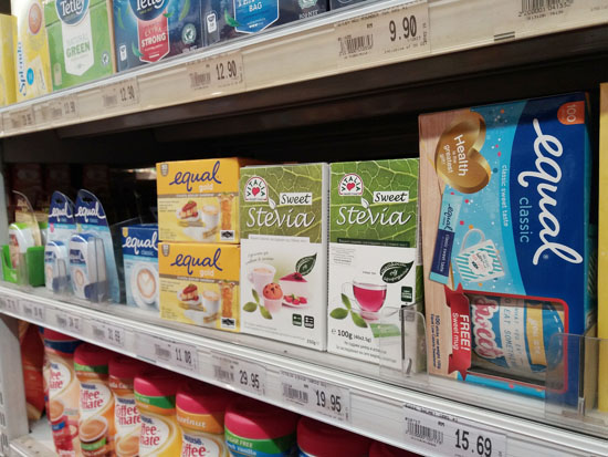 artificial sweeteners and diet