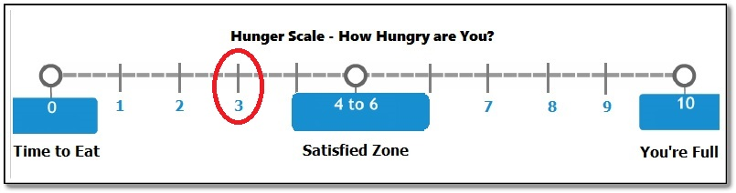 hunger cues hunger scale 3