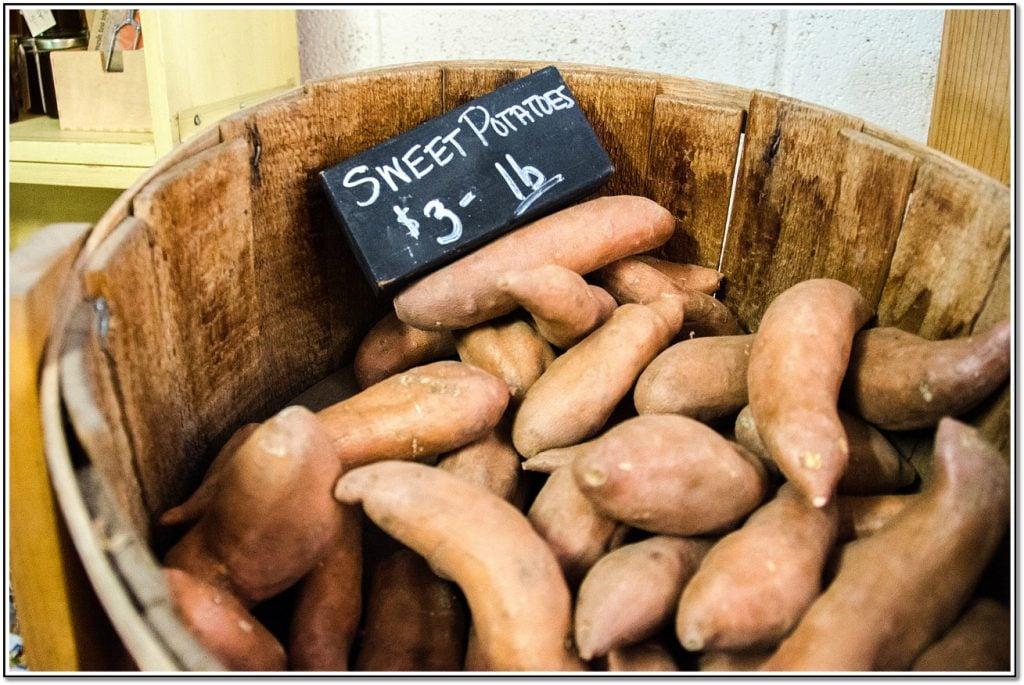 Vegetable Detox Sweet Potatoes