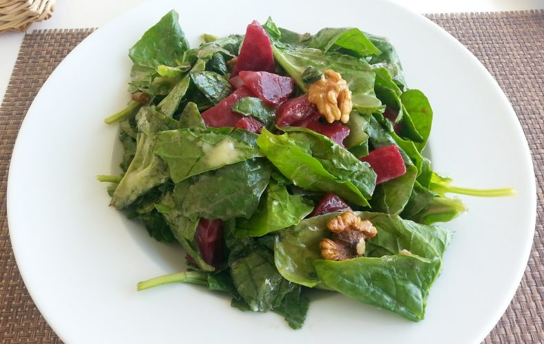 Homemade Walnut Vinaigrette