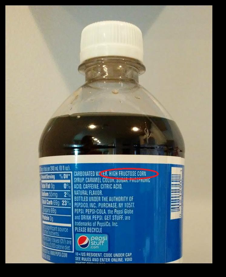 Fructose and fat loss soda