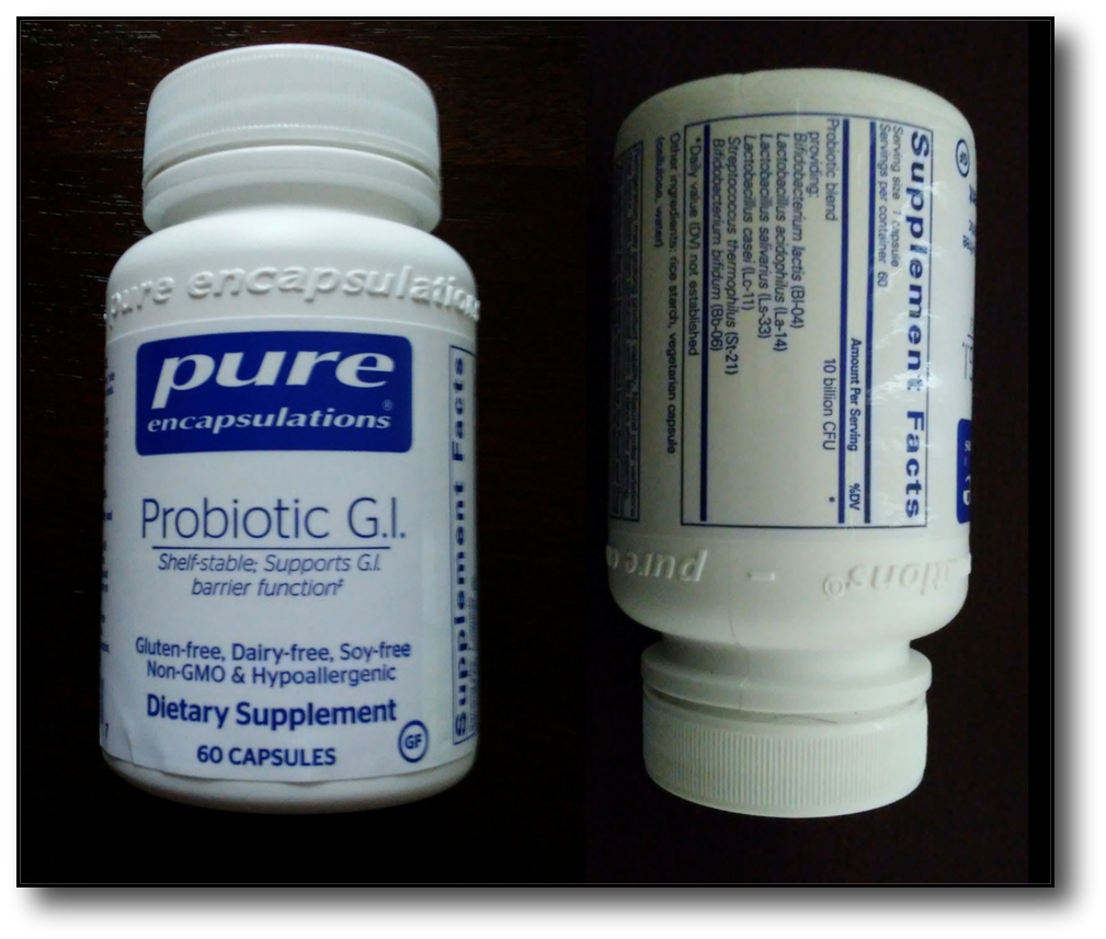probiotics and fat loss - pure front and back