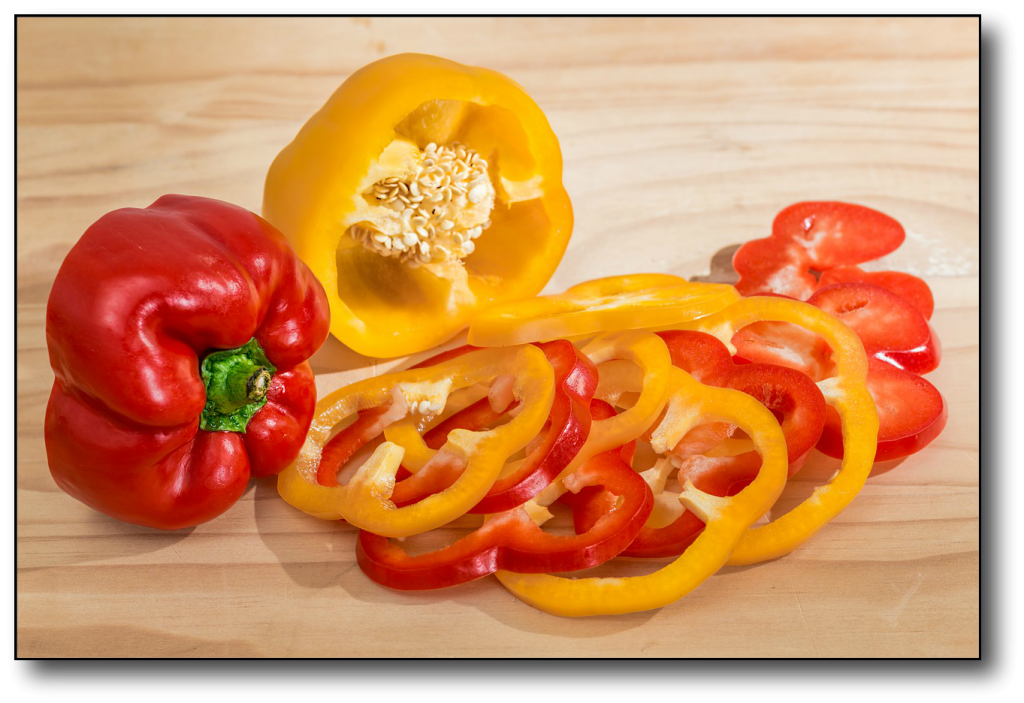 Starchy Vegetables vs Non-Starchy Vegetables bell pepper
