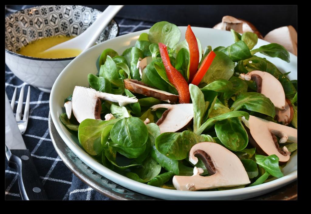 Starchy Vegetables vs Non-Starchy Vegetables salad