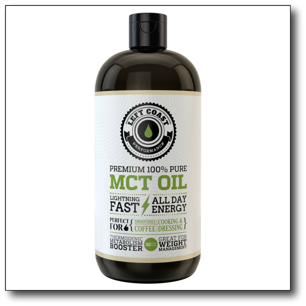 low-carb, high-fat food -mct oil