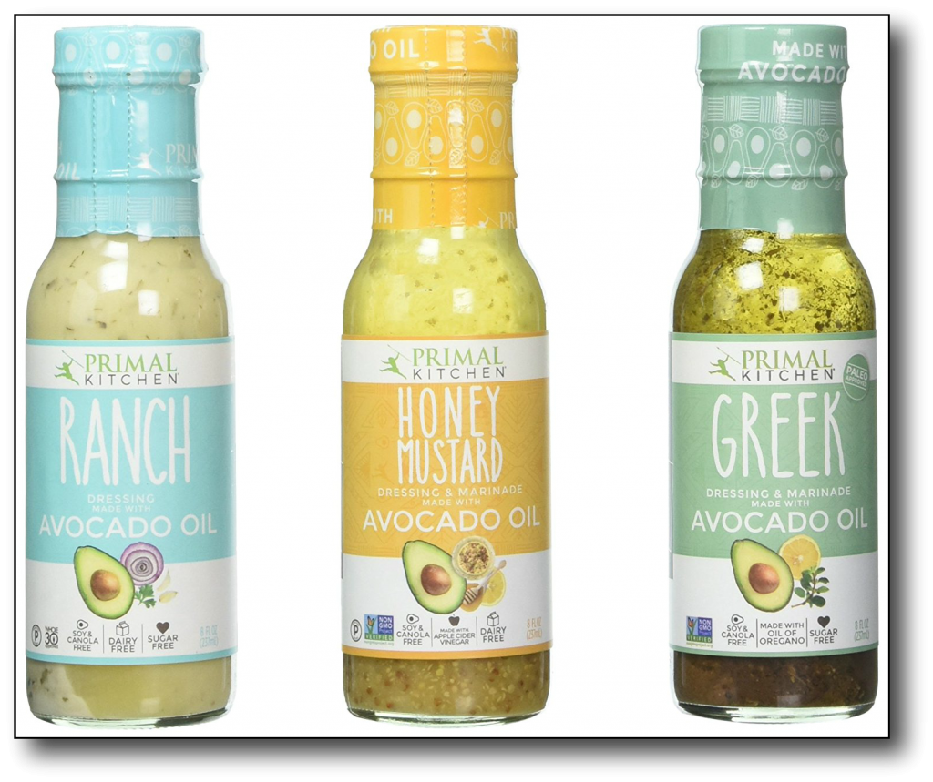 low-carb, high-fat food - primal kitchen dressings