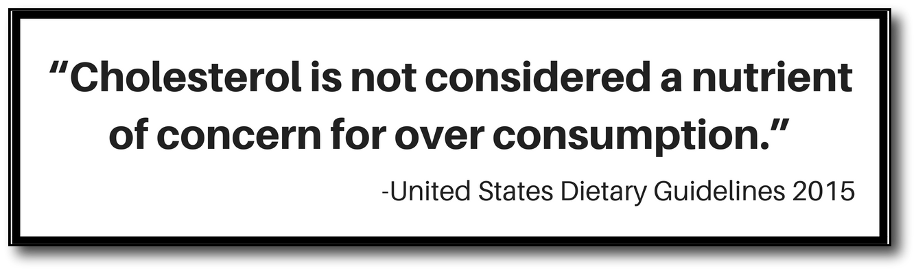 low-carb, high-fat food - us dietary guideline quote