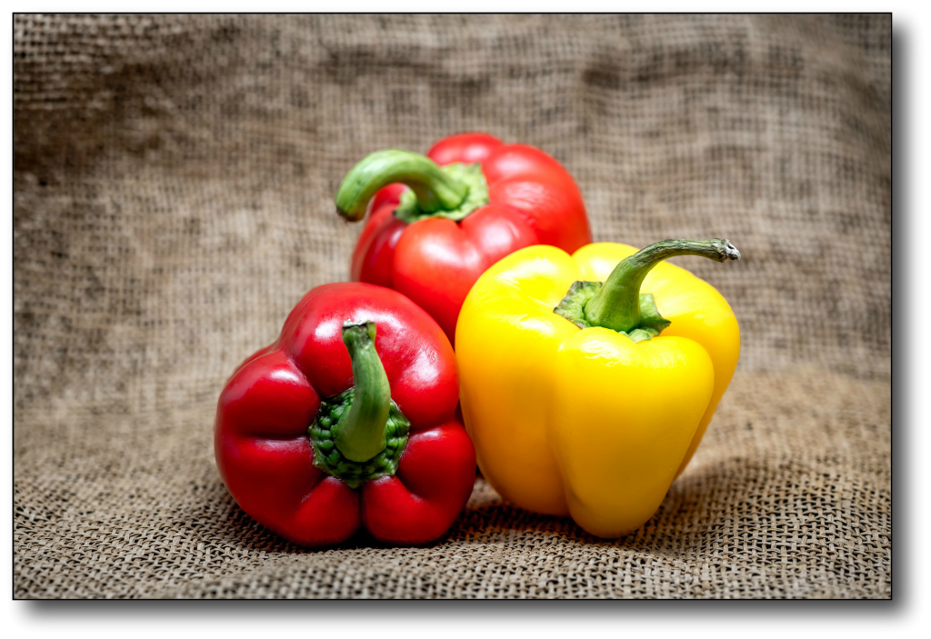 low-carb,high-fat food - peppers