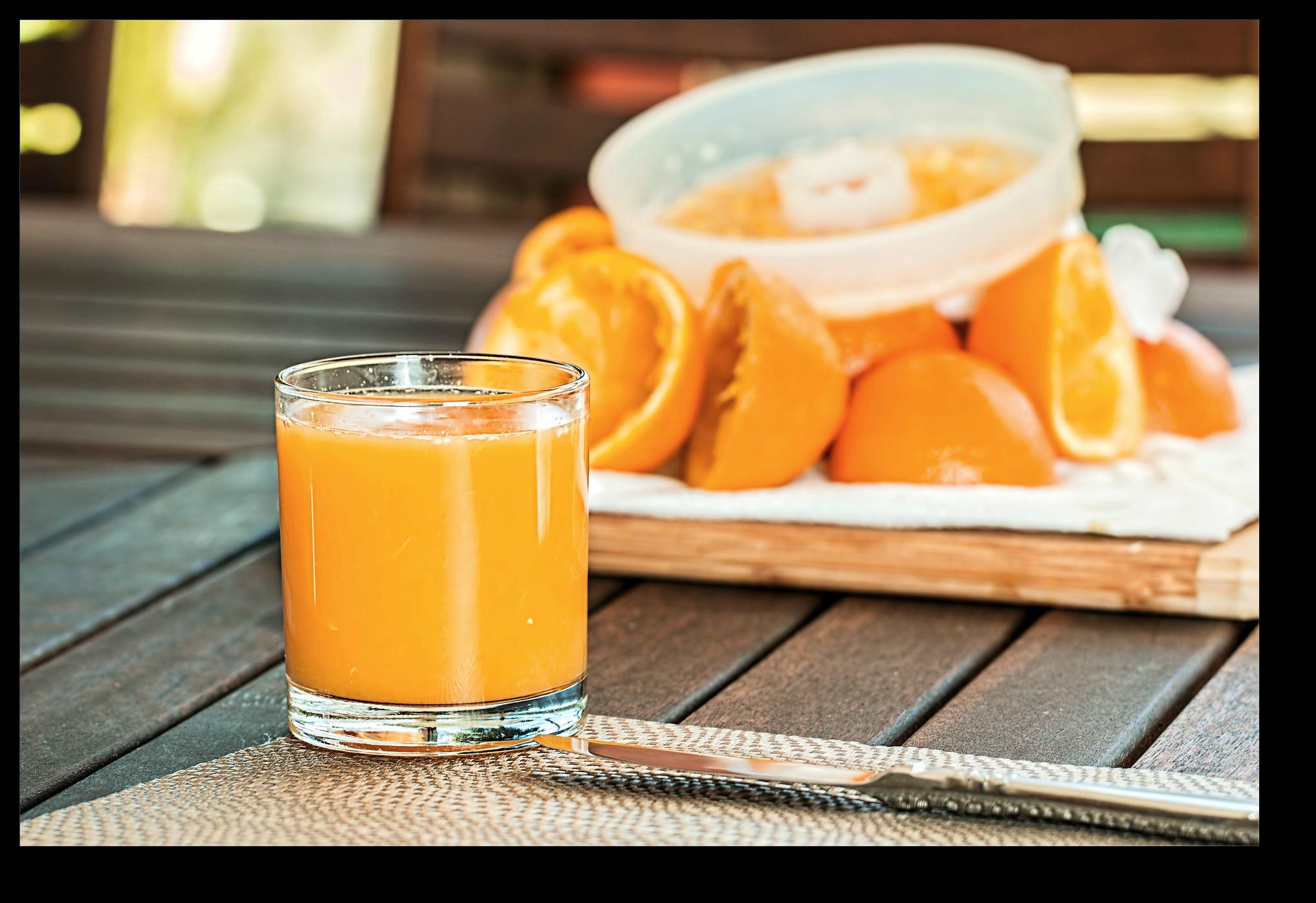 fruit juice concentrate - orange juice