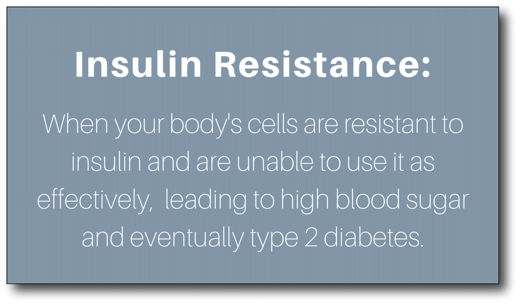 Type 3 diabetes - Insulin Resistance (1)