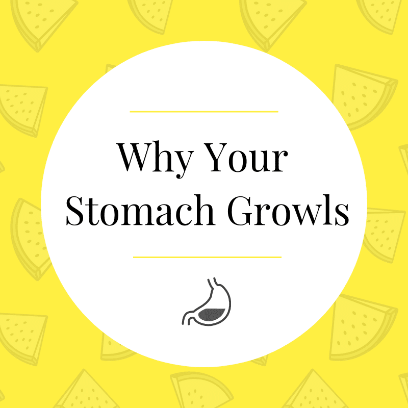Why Your Stomach Growls | If You Need to Eat | Is It Weight Loss?