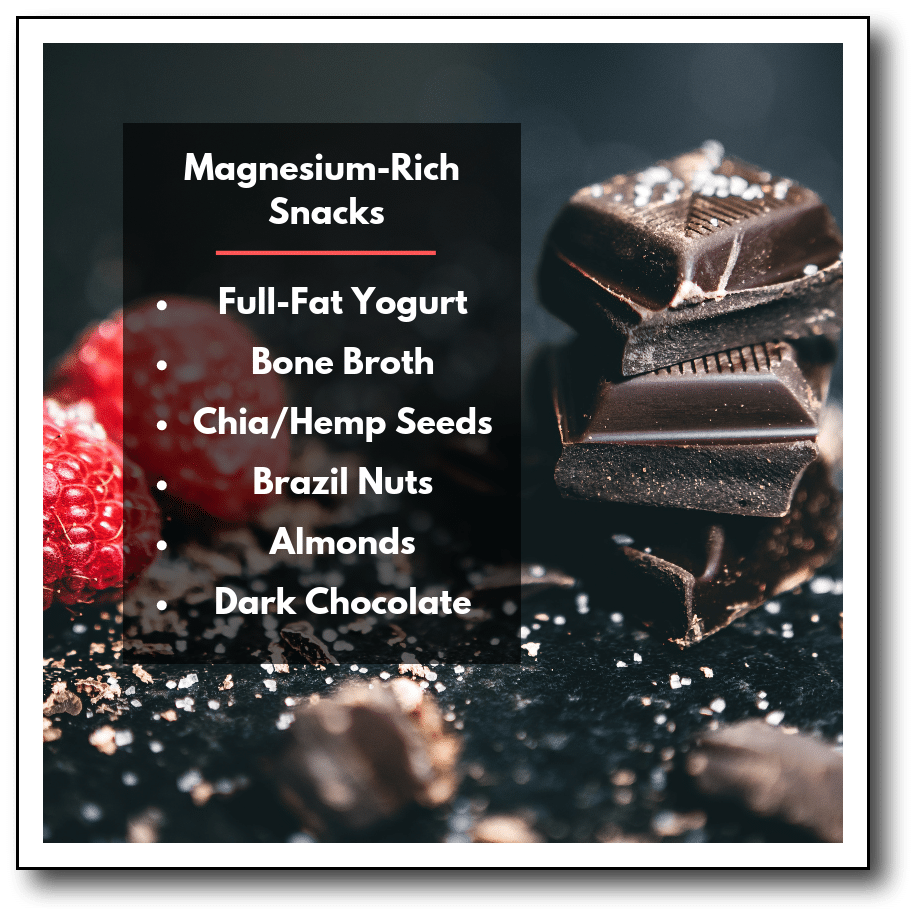 magnesium-rich snacks