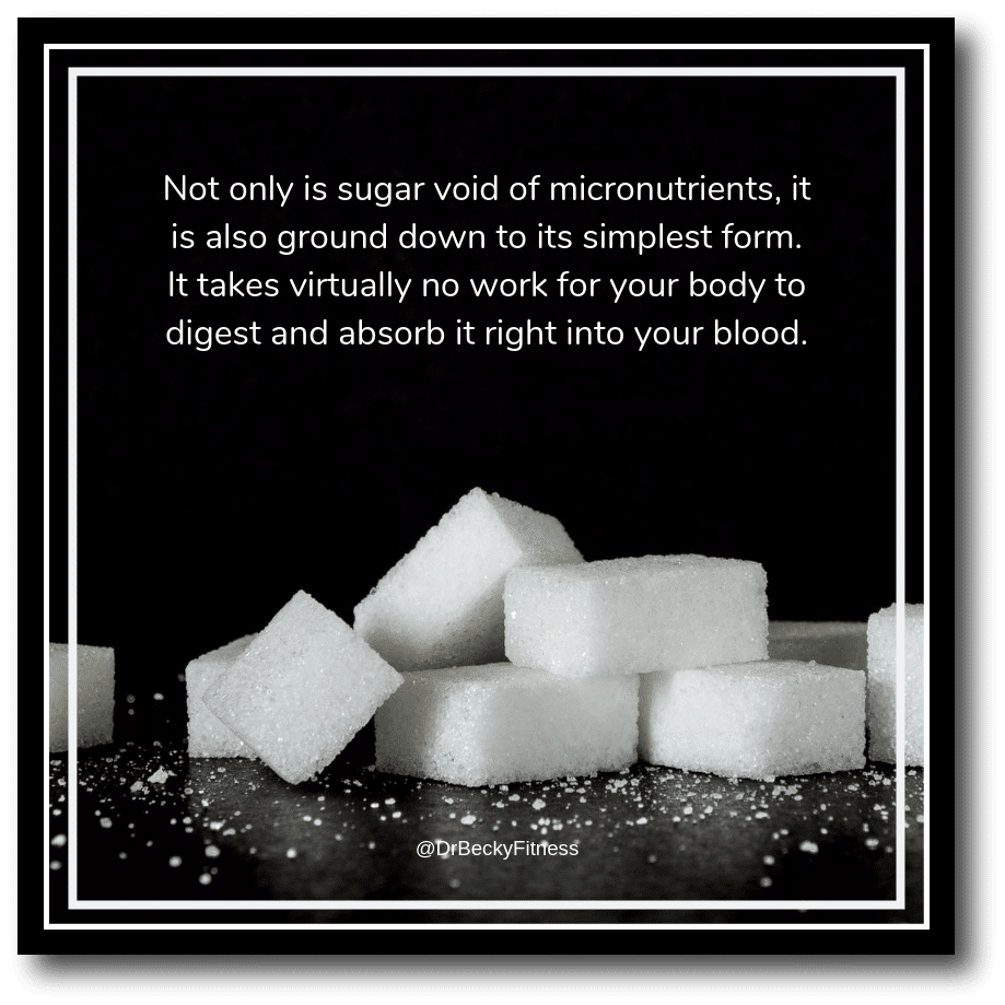 sugar is a diet destroyer. Here's why