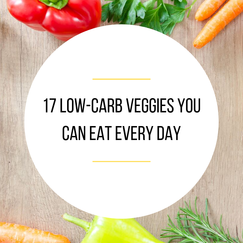 17 low carb veggies