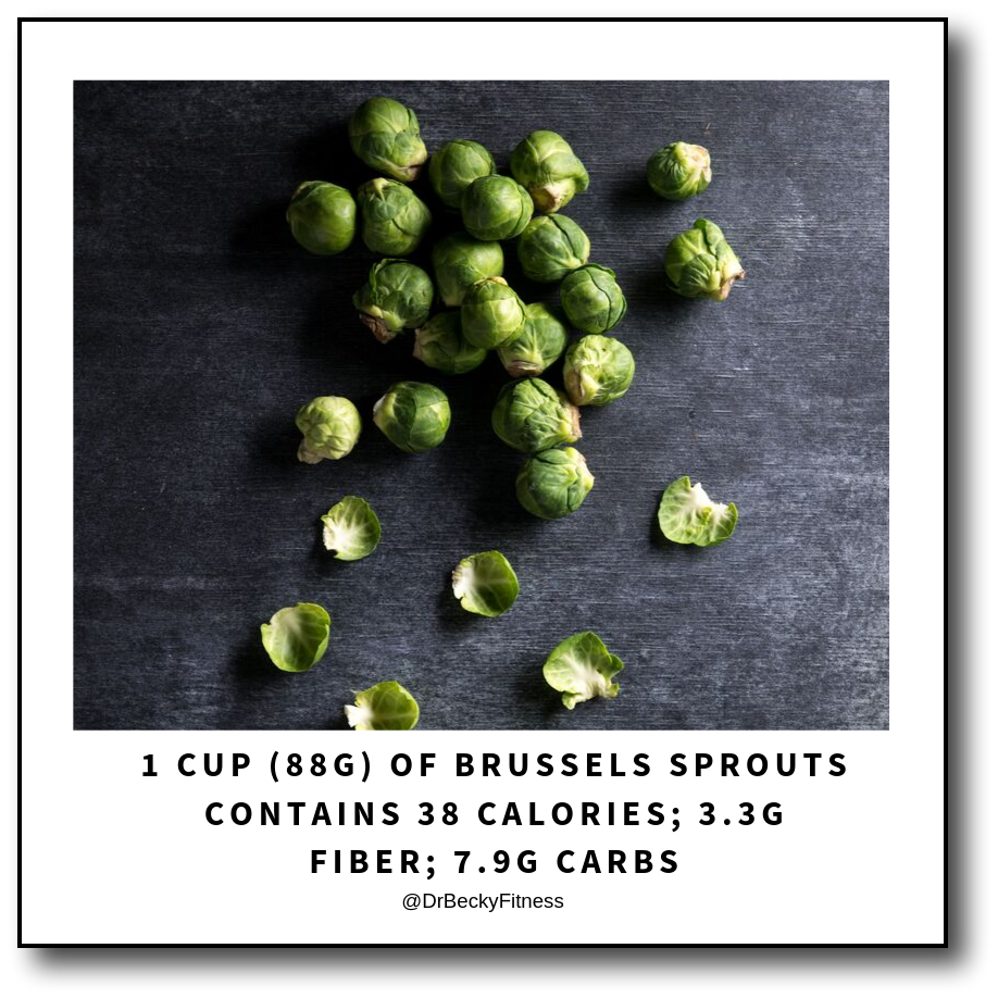Brussels sprouts cruciferous and low-carb