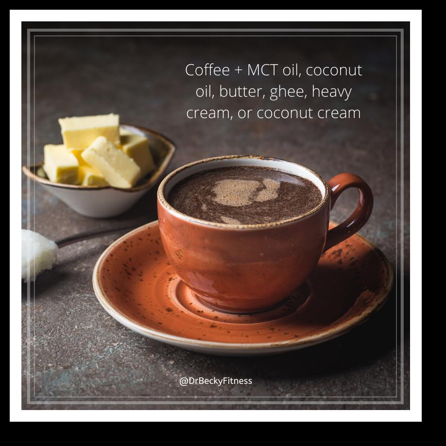 keto coffee as a snack