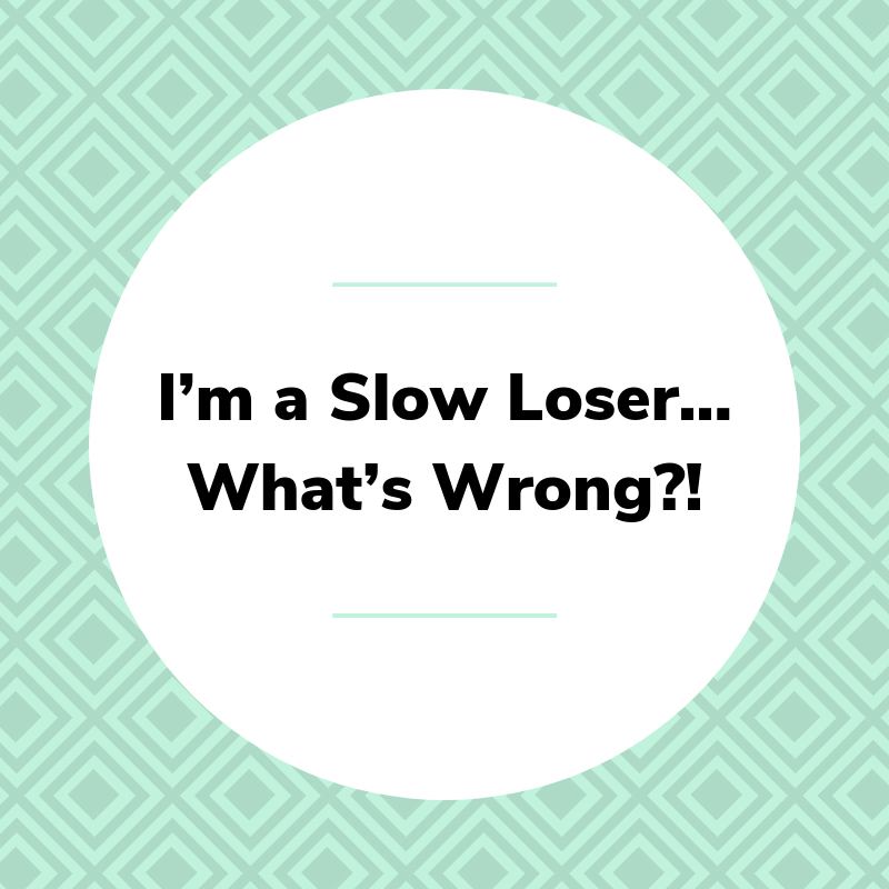 I'm a Slow Loser…What's Wrong?!