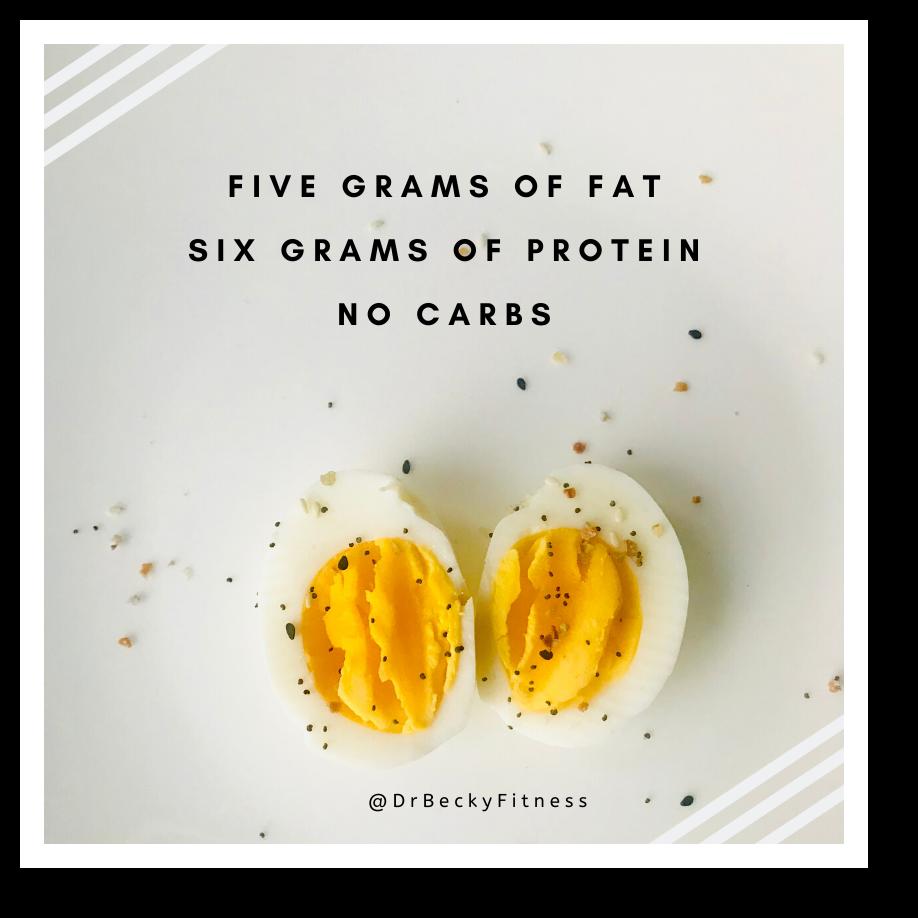 hard-boiled egg snacks