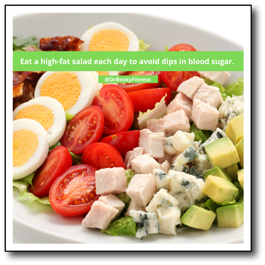 salad to stabilize blood sugar