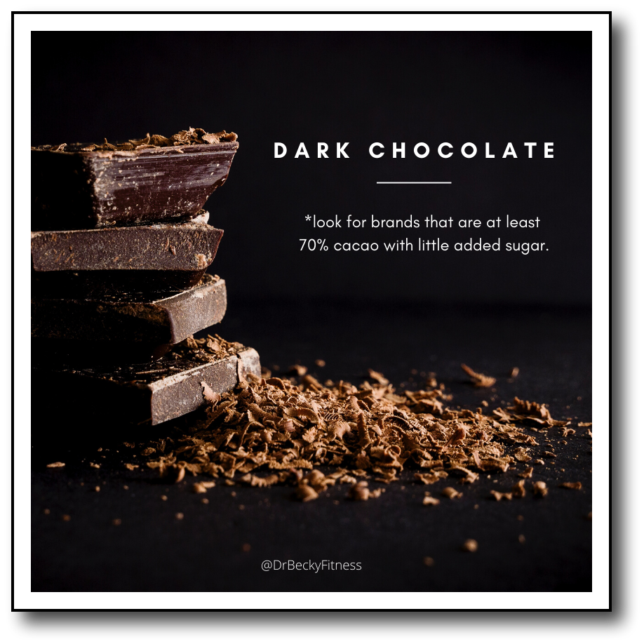 low carb foods dark chocolate