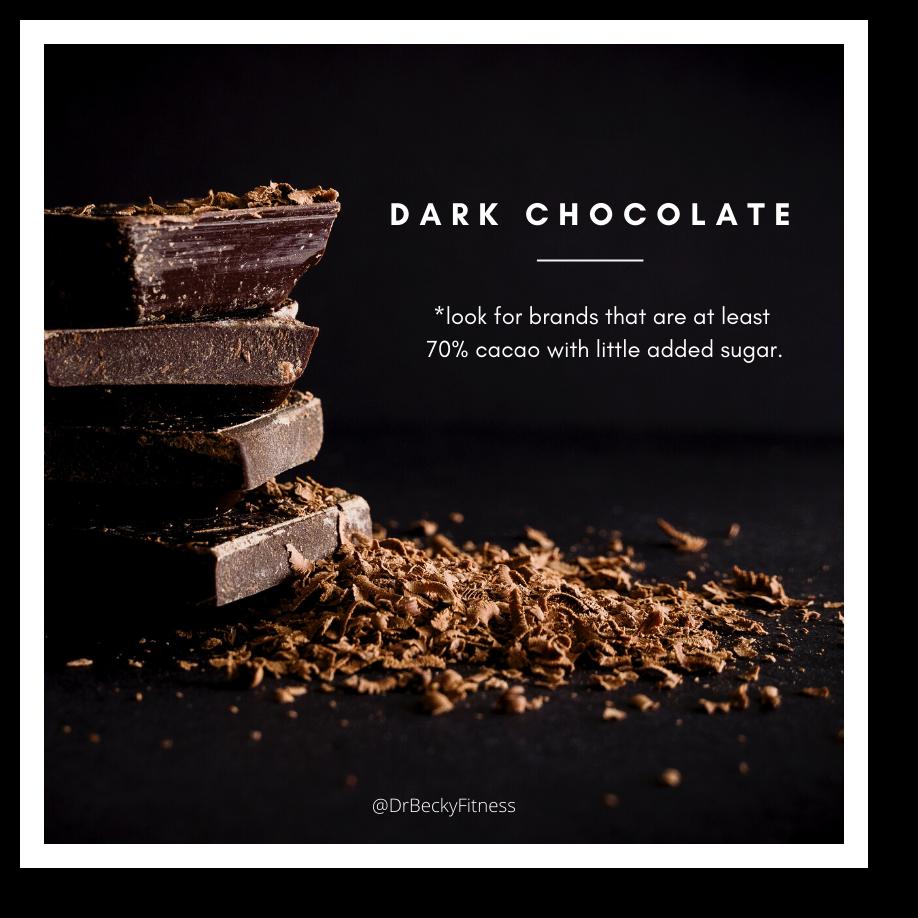 low carb foods dark chocolate
