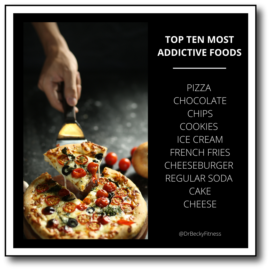 most addictive foods