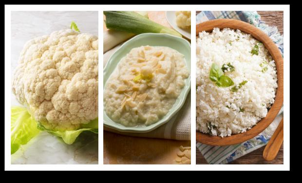Foods to Get Keto Adapted - cauliflower versatility