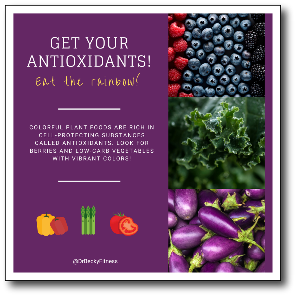 antioxidants in fruits and vegetables boost immunity