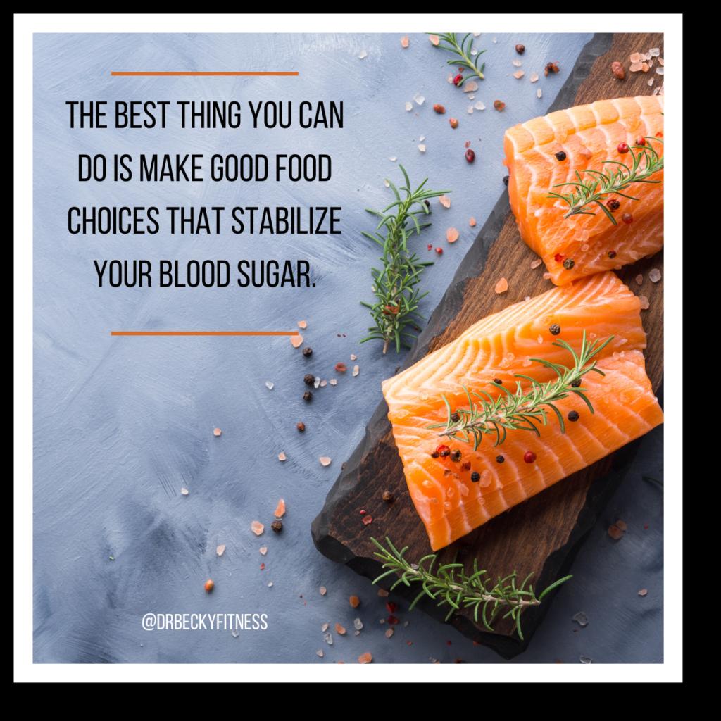 make good food choices
