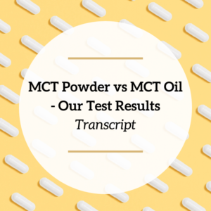 mct powder vs mct oil - feature picture
