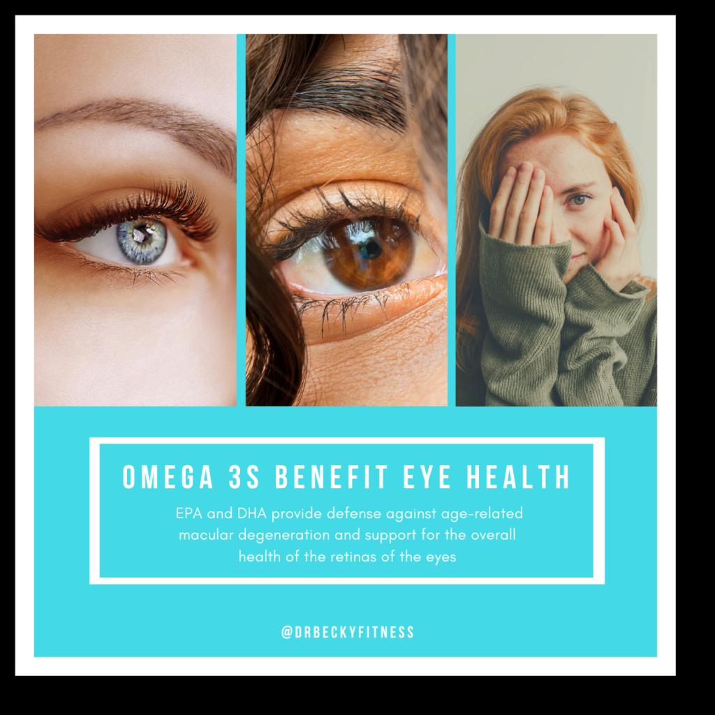 omega 3s for eye health