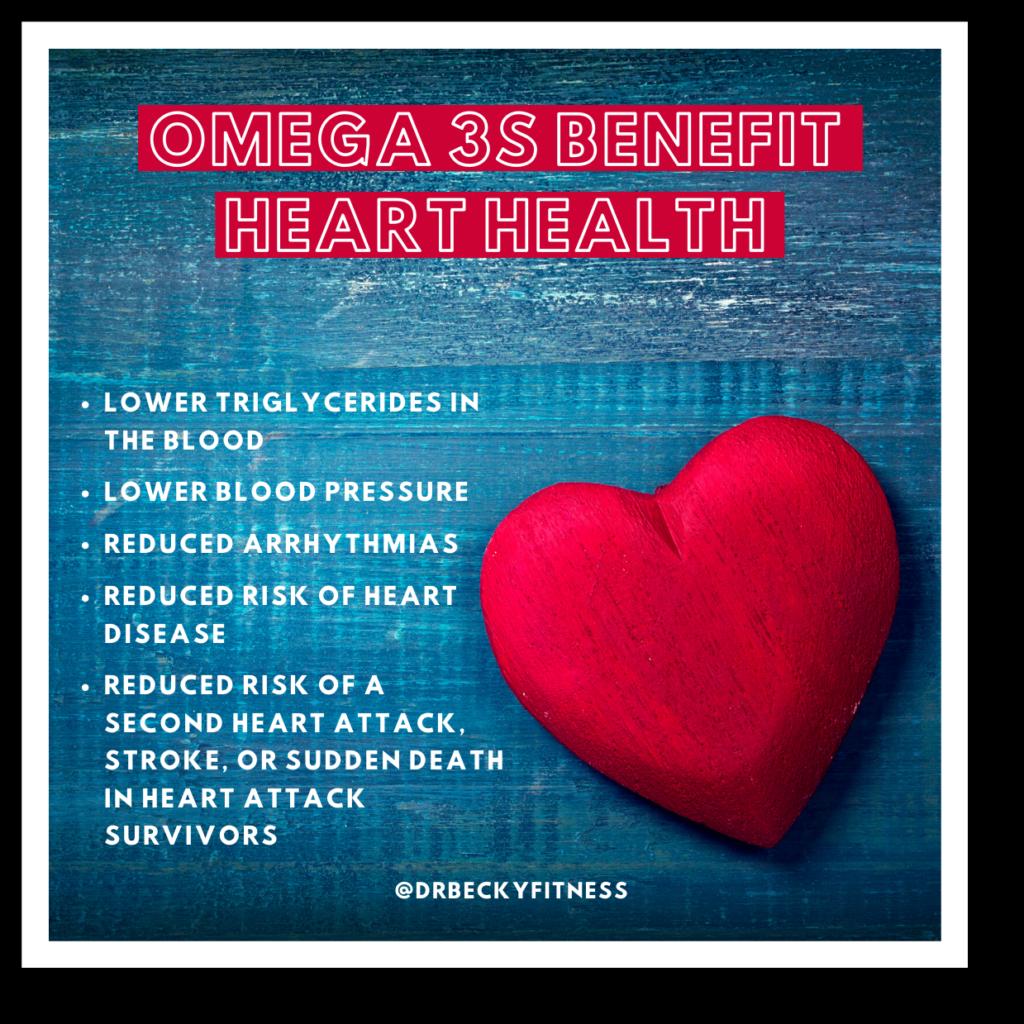 Omega 3 benefits for heart health