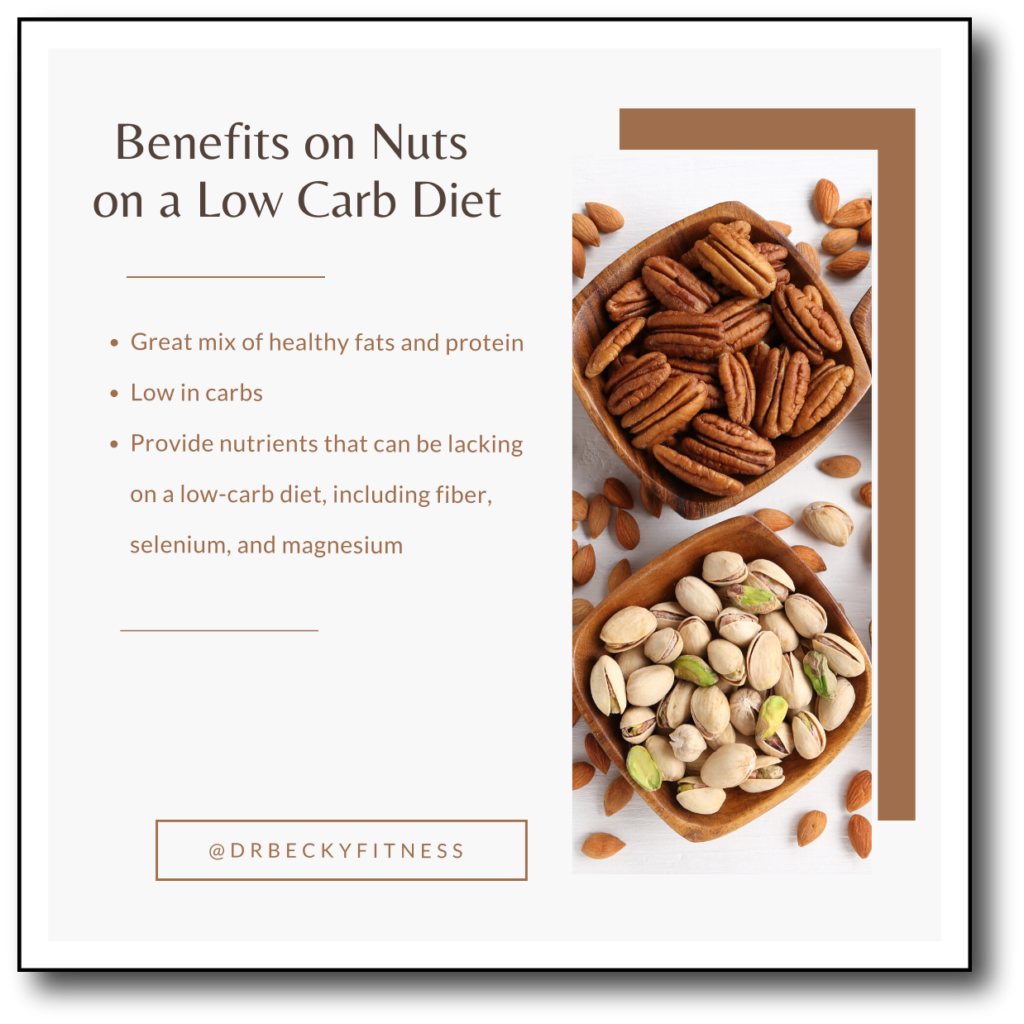 benefits of nuts on a low carb diet