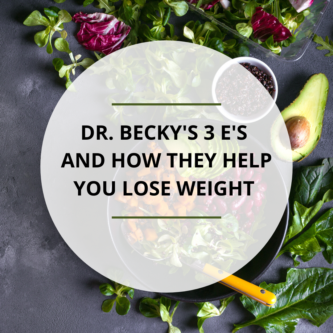 Dr. Becky's 3 Es and How They Help You Lose Weight