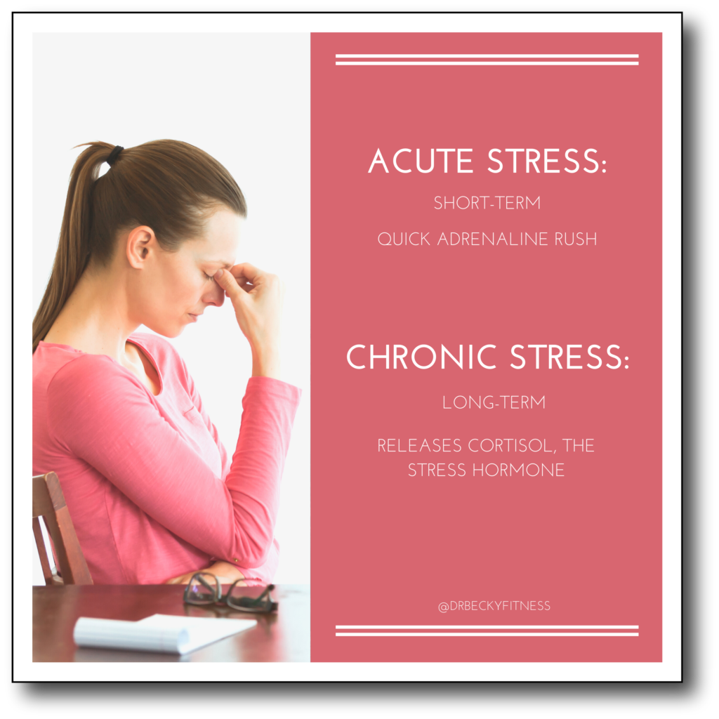 acute stress vs chronic stress