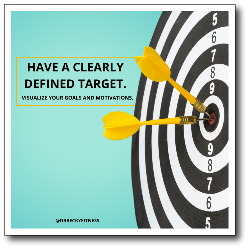 have a clearly defined target